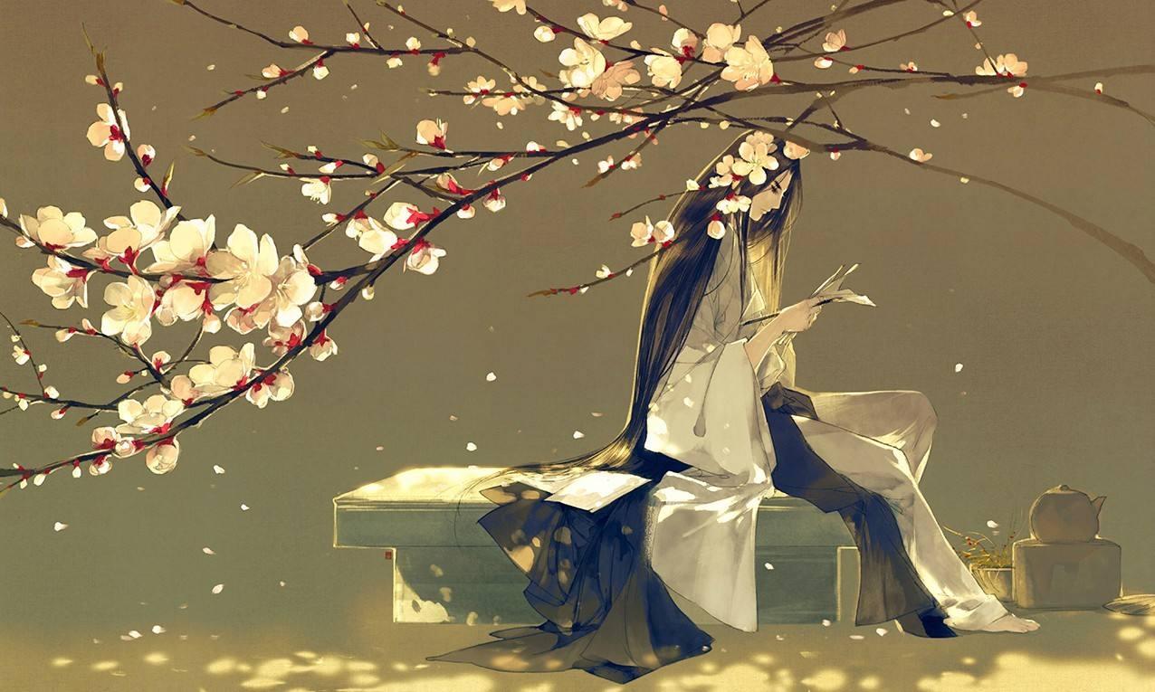 白茶清欢无别事,我在等风也等你。