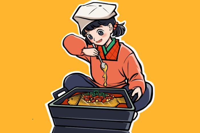 偶鱼你烤鱼品牌slogan征稿令
